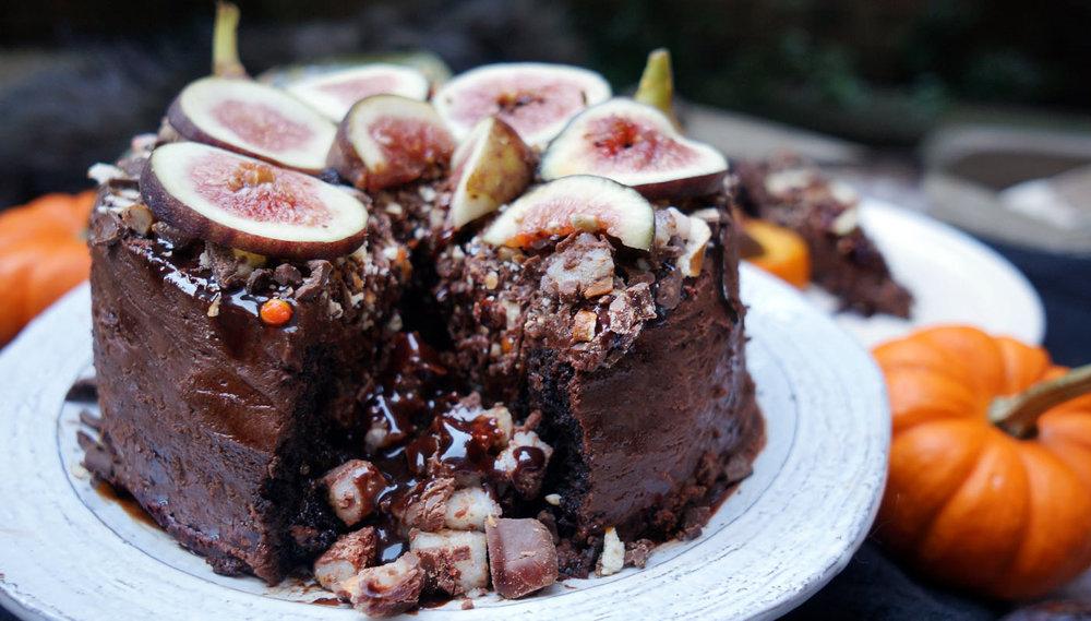 BOOzy Almond Joy Cake