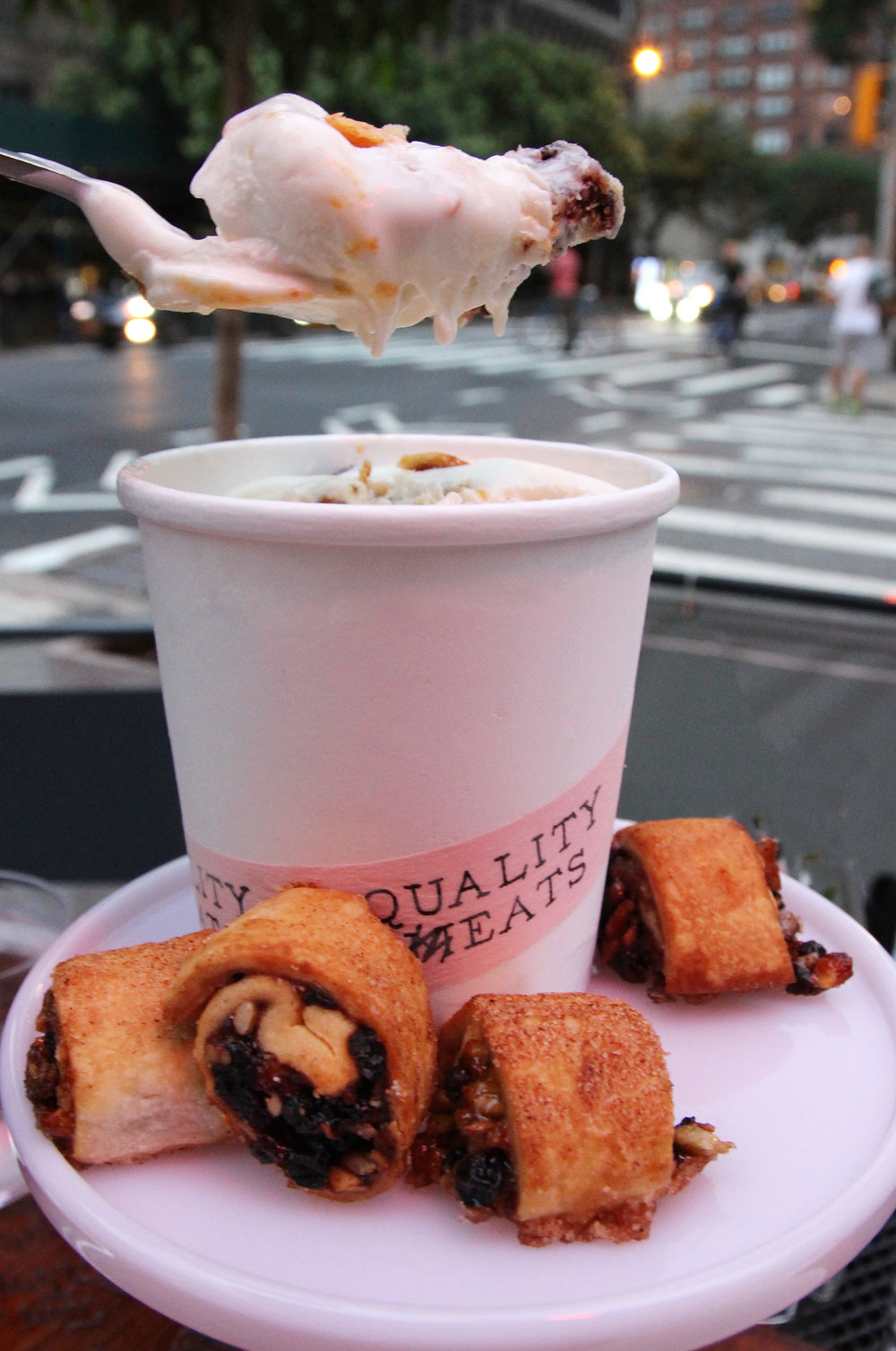 Quality Eats Rugelach Ice Cream