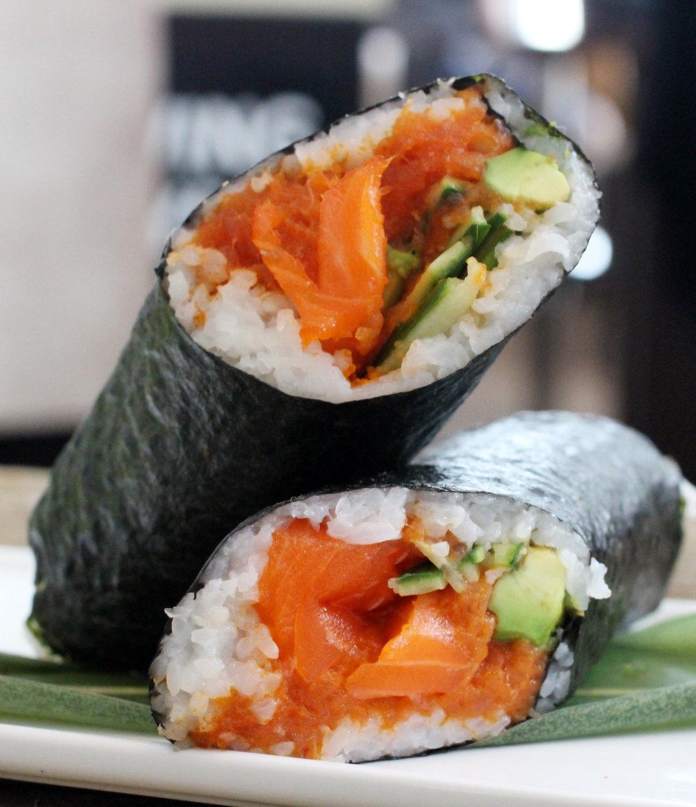Sushi Station's Sushi Burritos