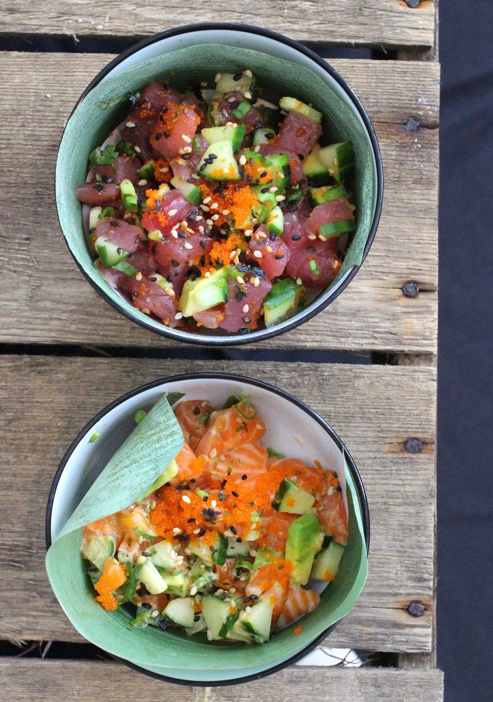 Sushi Station's Poke Bowls