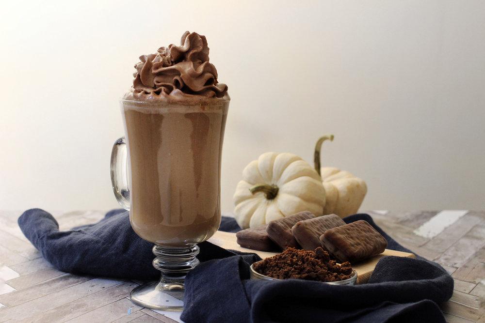Almond Maple Mocha Latte