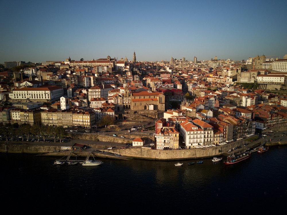Drone's View of Porto