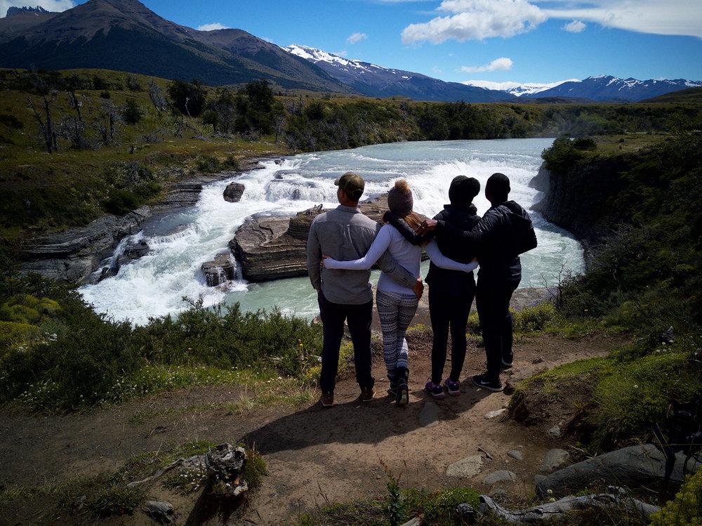 Waterfall drone photo taken by Franklin Williams of  @OutsiderSkies