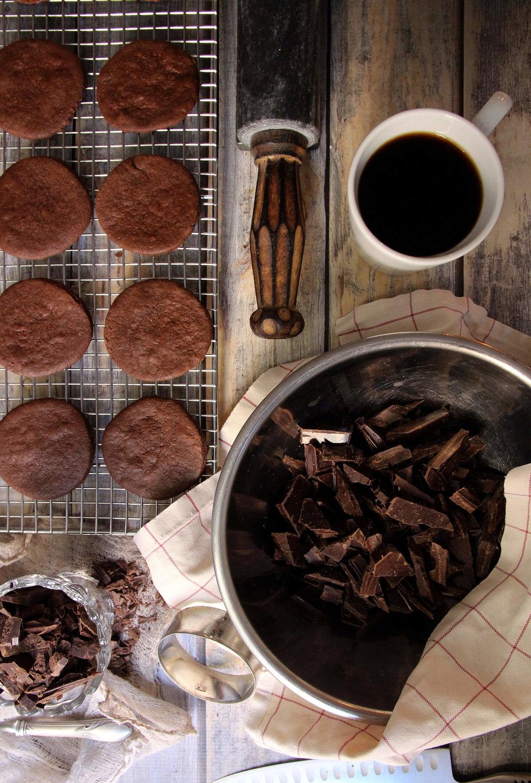 Coffee Thins Cookies
