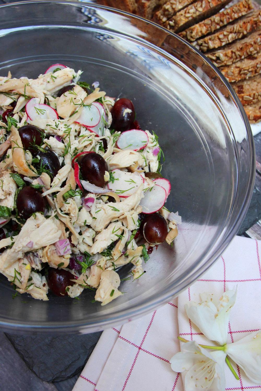 Rotisserie Chicken And Grape Salad