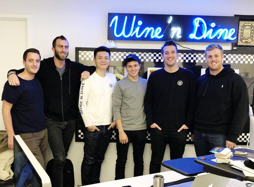 Wine n Dine Team || Photo Source    Wine N DIne