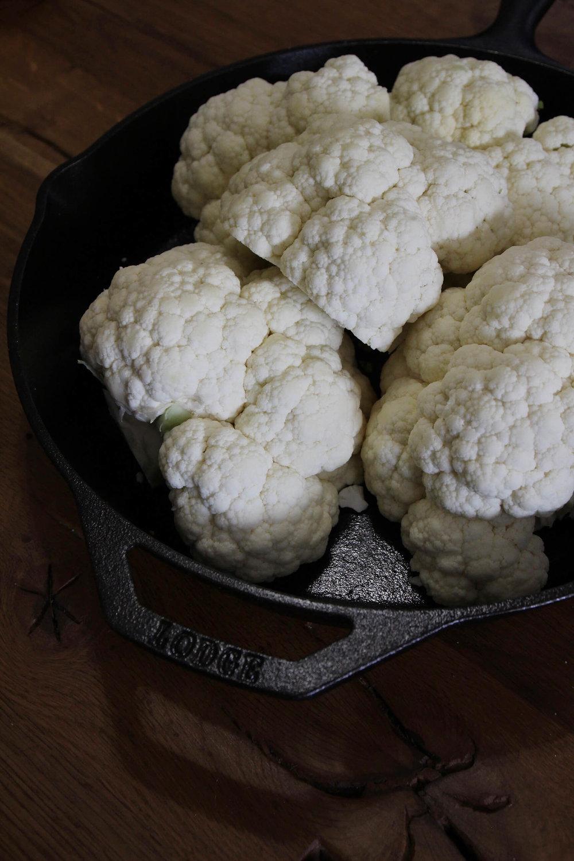 Hasselback Roasted Cauliflower