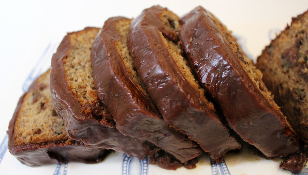 Chocolate Covered Banana Bread