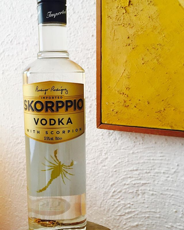 Adventure to colors. . . . . . . . . . . #skorppiovodka #iatethescorpion #vodka #organic #college #drinks #bartender #tipsy #weekend #cheers #scorpio #scorpion #happyhour #shots #happyhour #shots #qualitycocktails #cocktailparty #bar #thirsty #liquor #instabar #cocktails #bizaarfoods #weird #adventurous #insects #protein