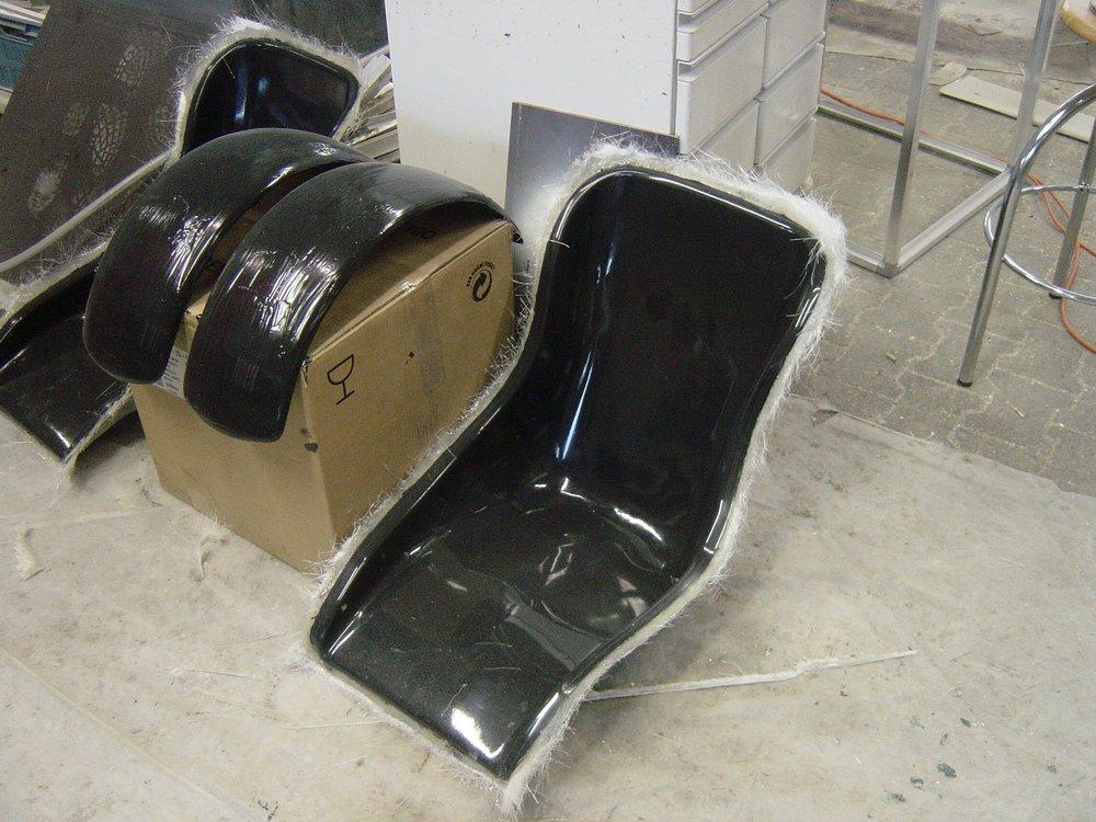 GFk Sitz zb. für Cobra oderSuper Seven -