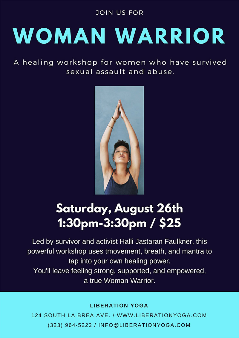Healing Yoga Workshop - Yoga for Sexual Assault Survivors