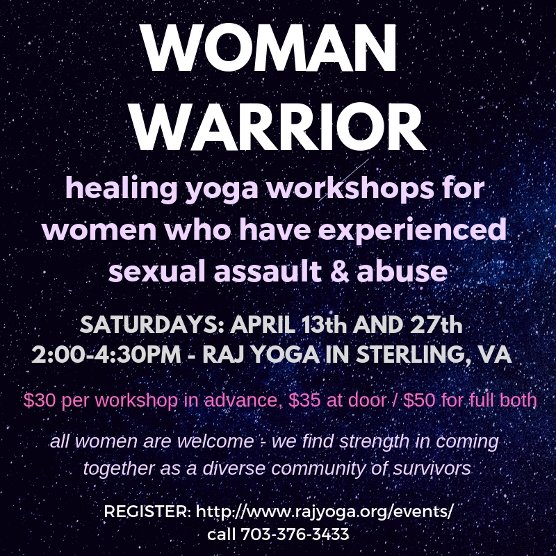 Healing Yoga for Sexual Assault Survivors Workshop - Sterling, Virginia