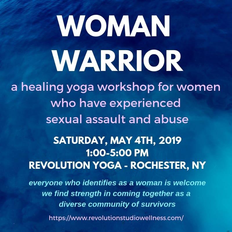 Healing Yoga for Sexual Assault Survivors - Rochester, New York
