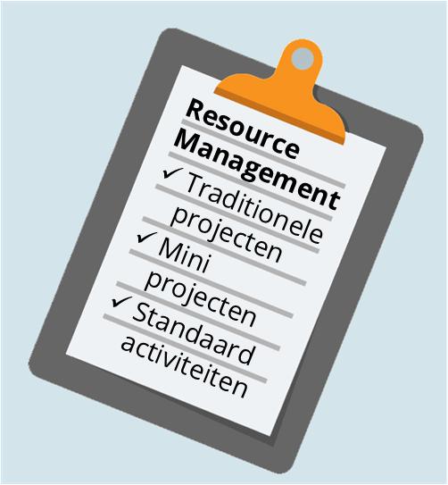 Type activiteiten in projectorganisatie