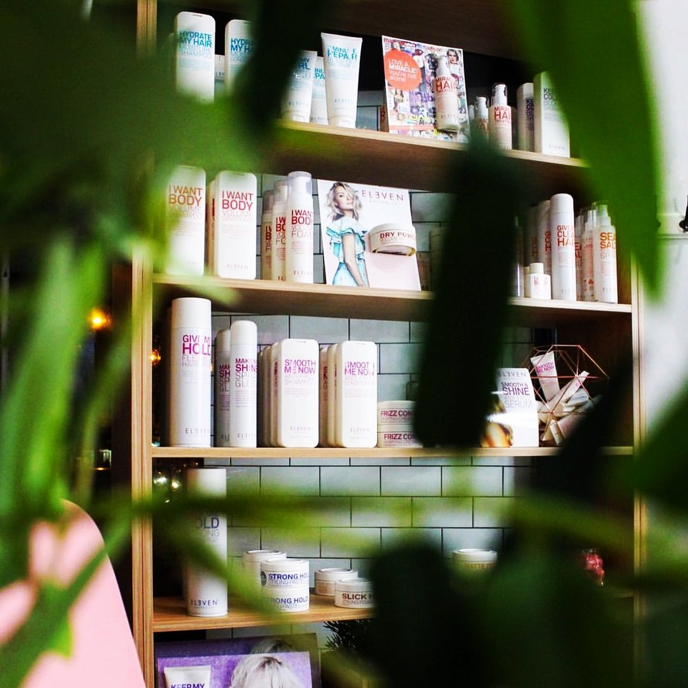 ELEVEN REASONS WHY.... - you have to buy products at a professional hairsalon?