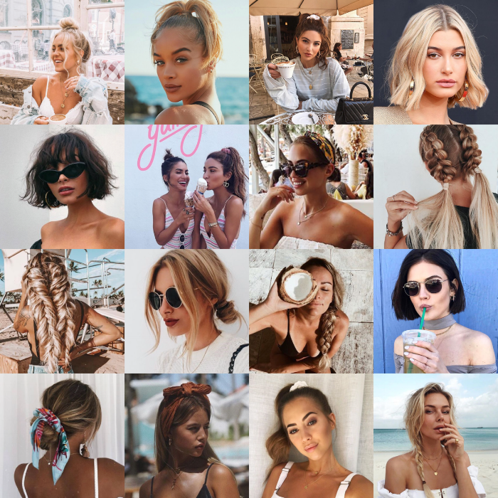 5 OF THE BEST SUMMER HAIRSTYLES  - SALTY AIR & SUN KISSED HAIR