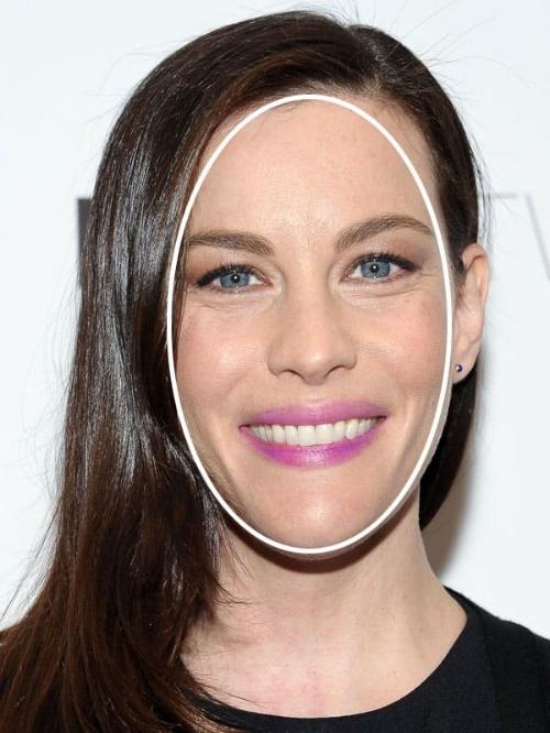 Liv Tyler heeft een langwerpig gezicht. Bron: Pinterest