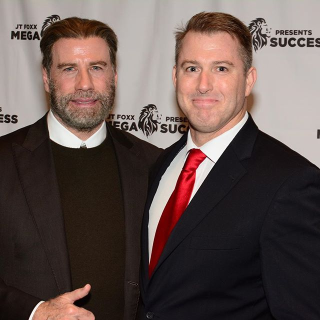 John Travolta - what a legend and humble man. My big take away is money is nothing unless you do good things with it.