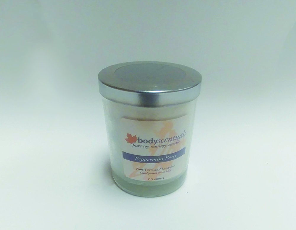Bodyscentuals Peppermint Patty Massage Candle | $21.95