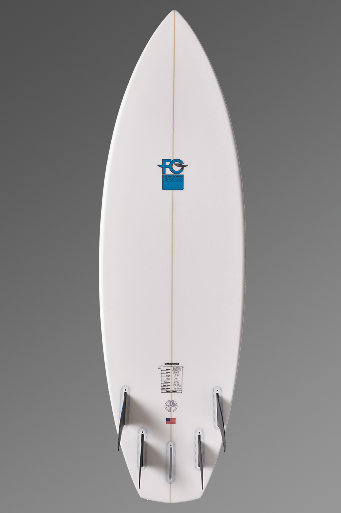 FCD Surfboards Wild Boar Shortboard Bottom Fin Setup