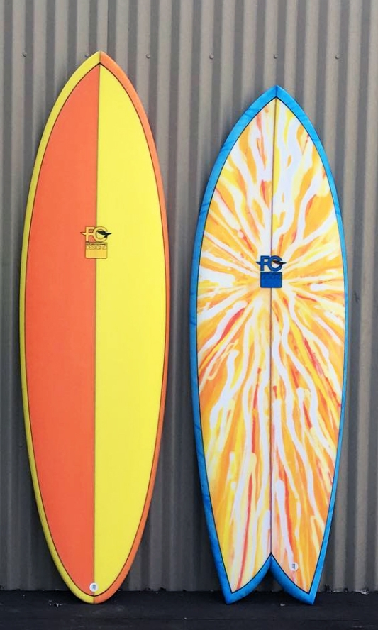 FCD Surfboards_Custom Boards_Egg and Fish Orange Blue.jpg