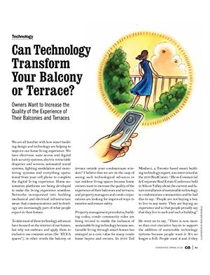 Condo balcony article