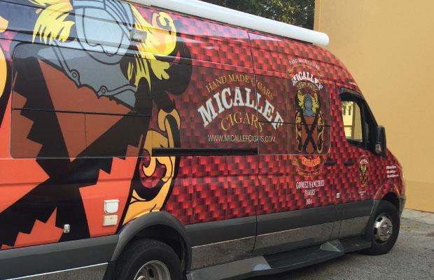 Micallef Cigars Van