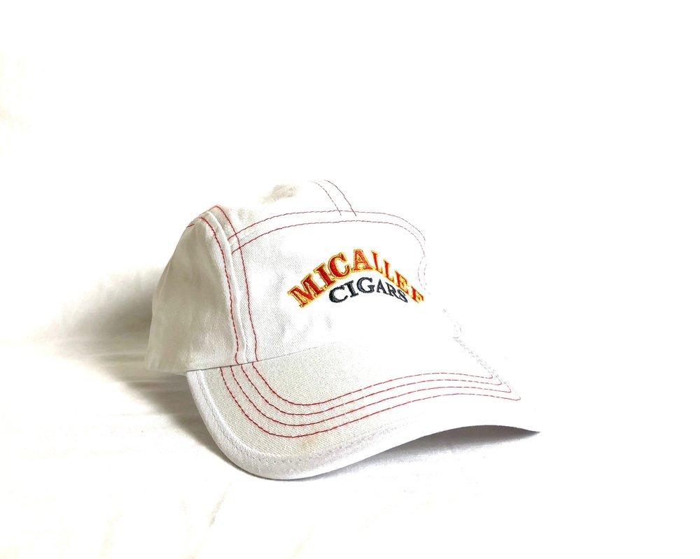 Micallef Cap White, $25.00