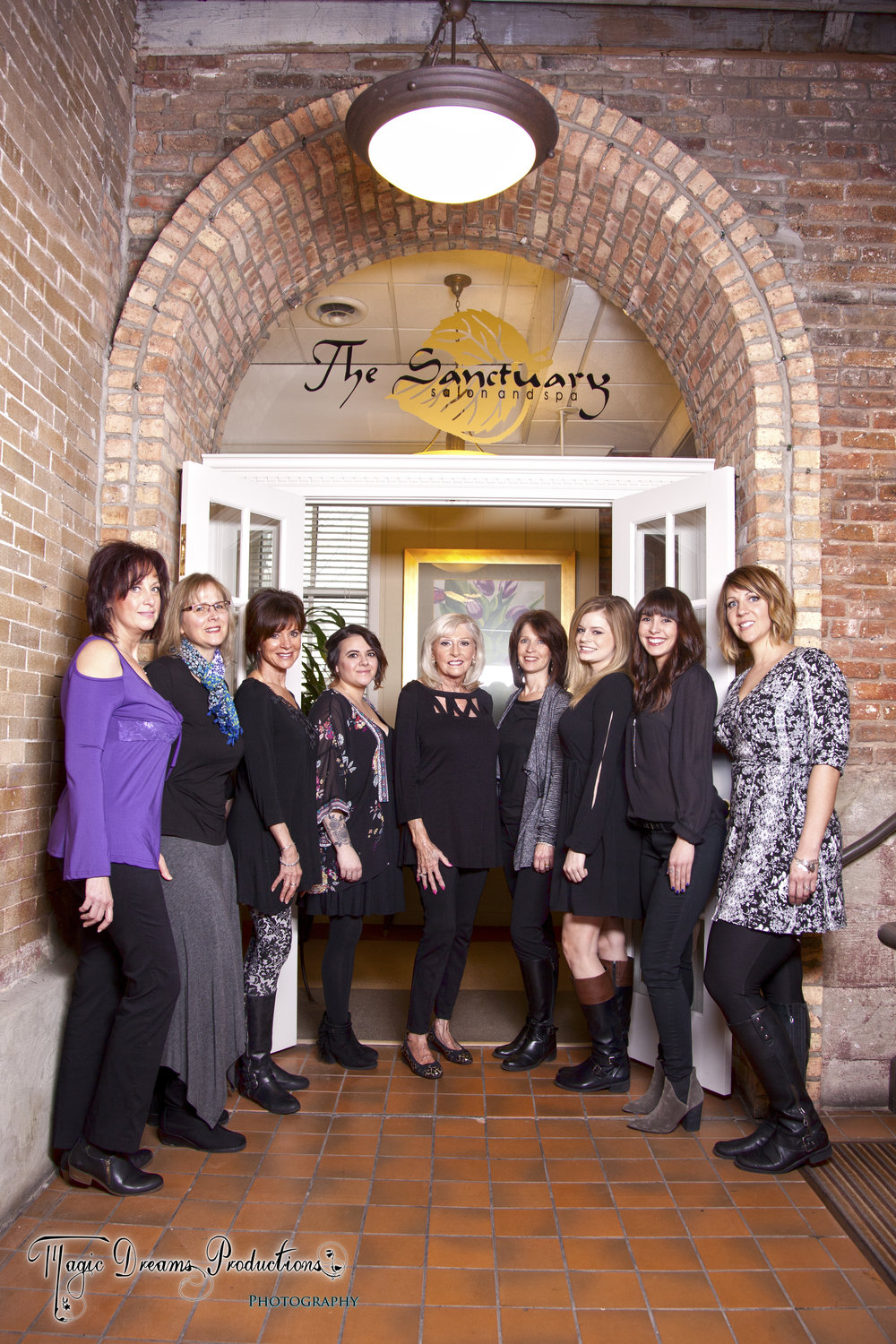 The Staff of Sanctuary Salon and Spa    Welcome Our New Team Members : Our New Nail Technician,  Meta and our New Stylist, Marty.      Book appointments today!