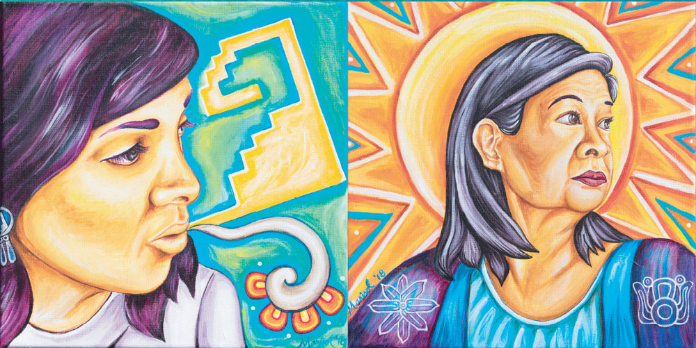 Left to Right: Mita Cuaron, Paula Crisostomo, 2018 by Marisol Torres