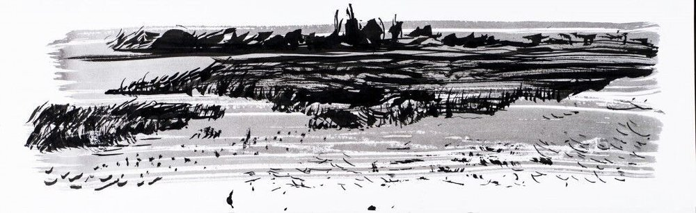 Towards Rye Harbour ink study