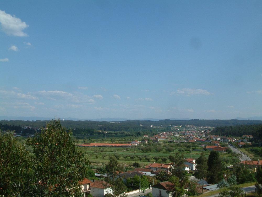 Vista sobre Vila Meã