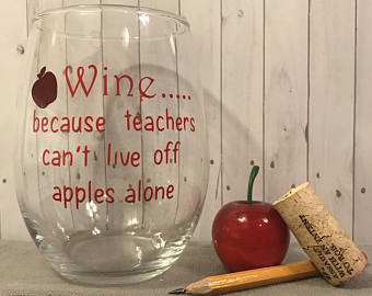 Wine for Teacher