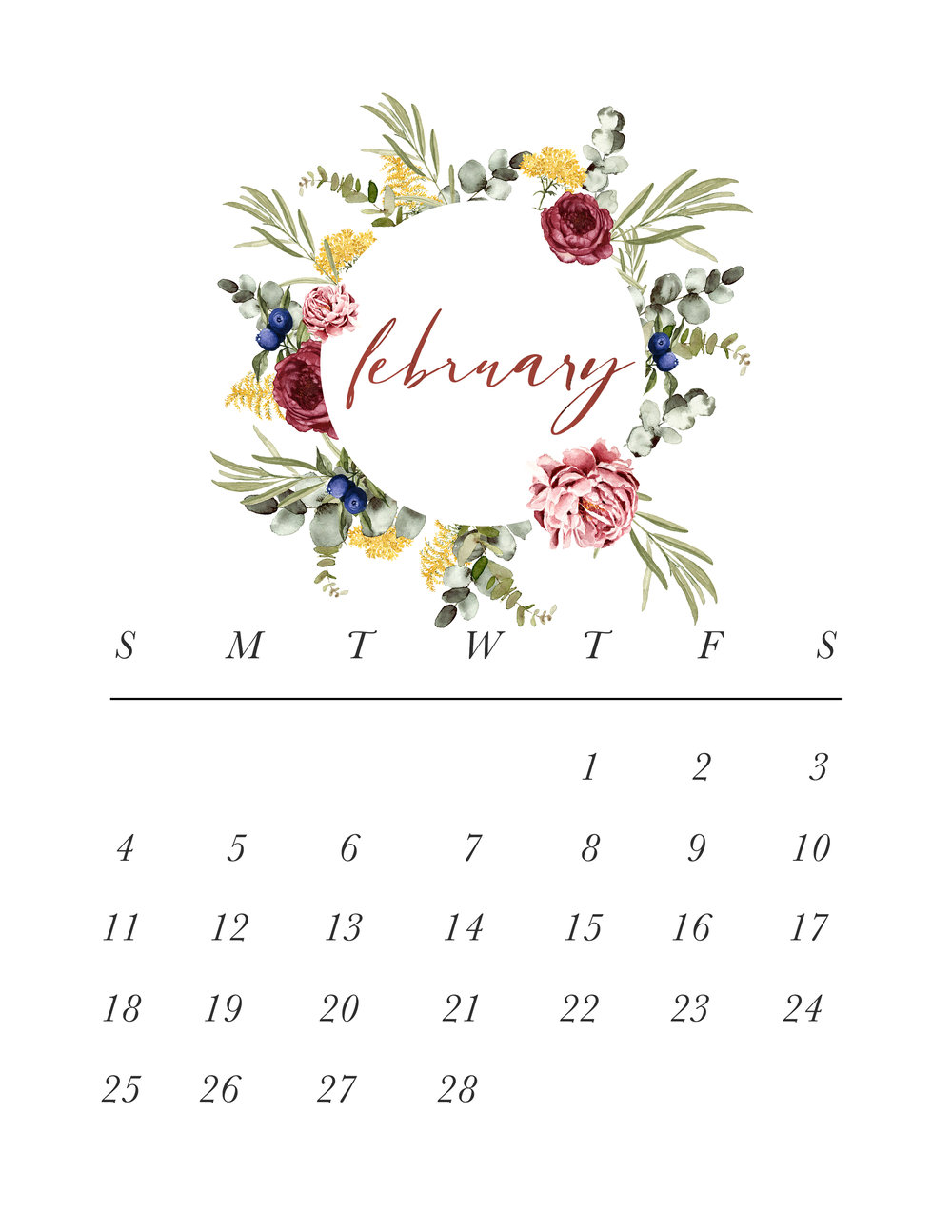 Jen Wagner Co. | February Calendar.jpg