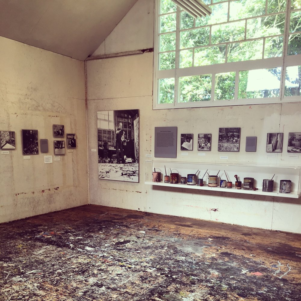 Jackson Pollock's Studio,  East Hampton, NY