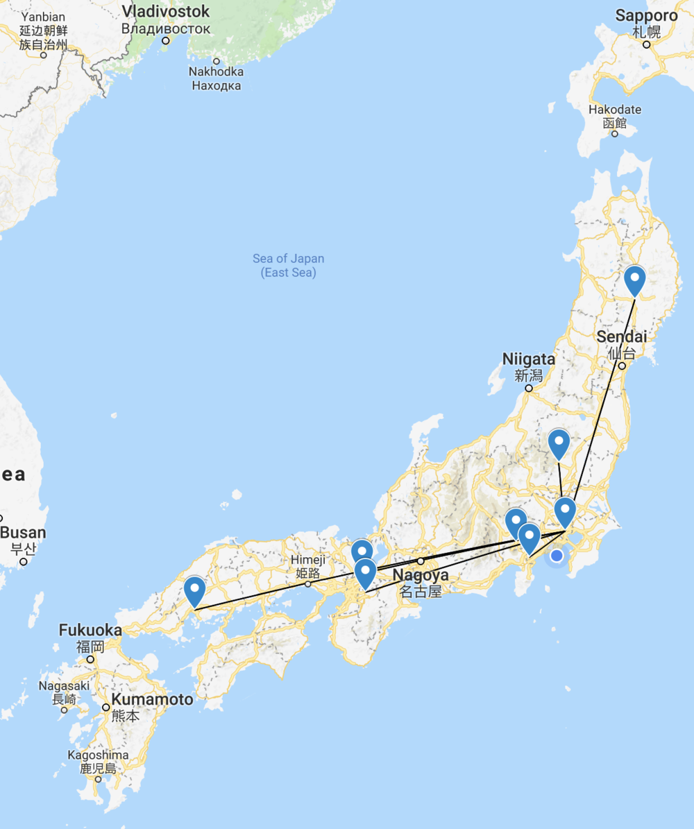 Travel maps global hotel guys our trips outside of north america have included india sri lanka japan southeast asia myanmar thailand laos cambodia and vietnam bali and costa gumiabroncs Images