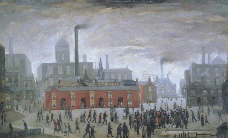 L S Lowry  An Accident   1926