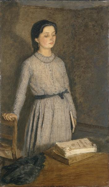 Gwen John  The Student   1903 © Manchester City Galleries