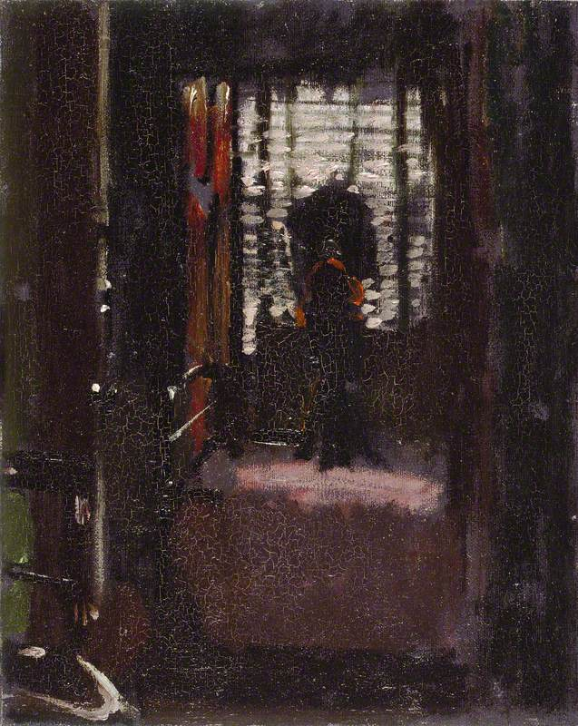 The winner of the most ghoulish painting in the Gallery - Jack The Ripper's Bedroom by Walter Richard Sickert