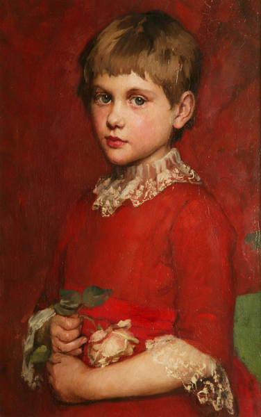 A Girl (Bertha Edgar)  Susan Isabel Dacre © Manchester City Galleries