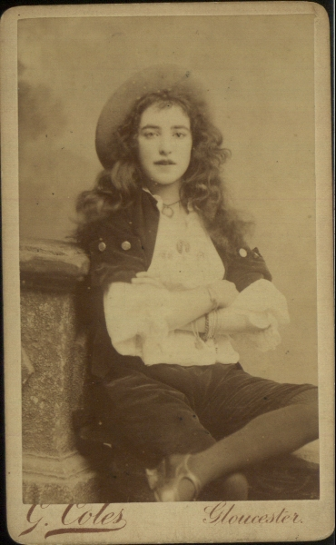 Carte-de-visite photograph,  G Coles (photographer)  © Manchester City Galleries