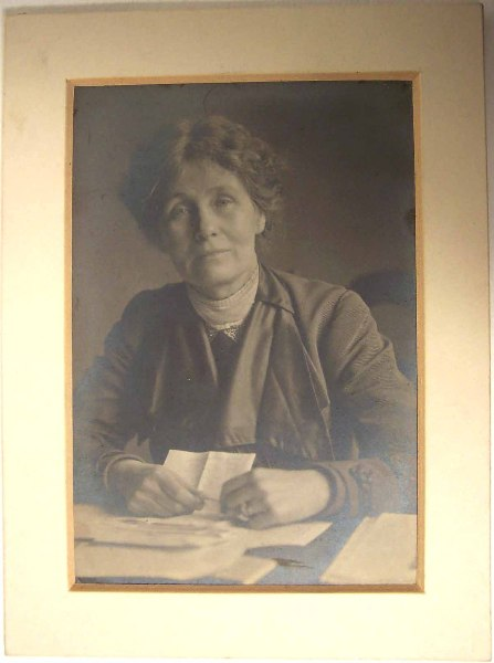 C. Pankhurst mounted photograph  © Manchester City Galleries