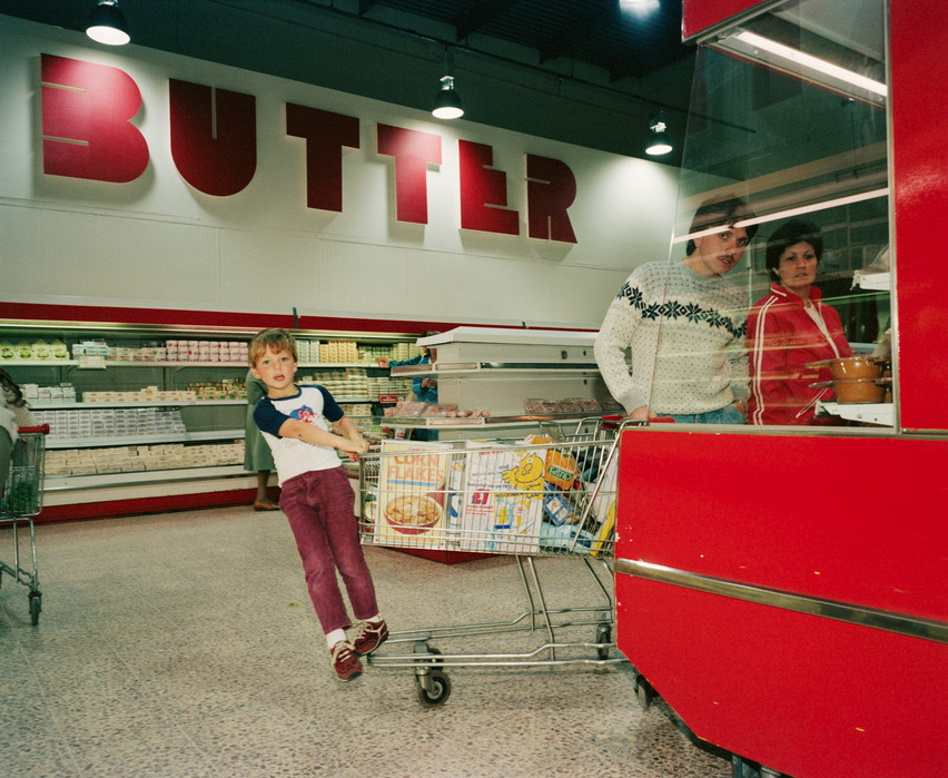 Point of Sale (1986) by Martin Parr – credit:Martin Parr/ Magnum Photos/Rocket Gallery