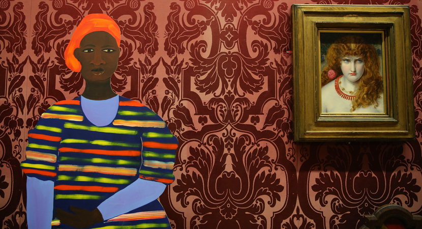 Naming the Money  (2017) Lubaina Himid in Walker Art Gallery ©National Museums Liverpool