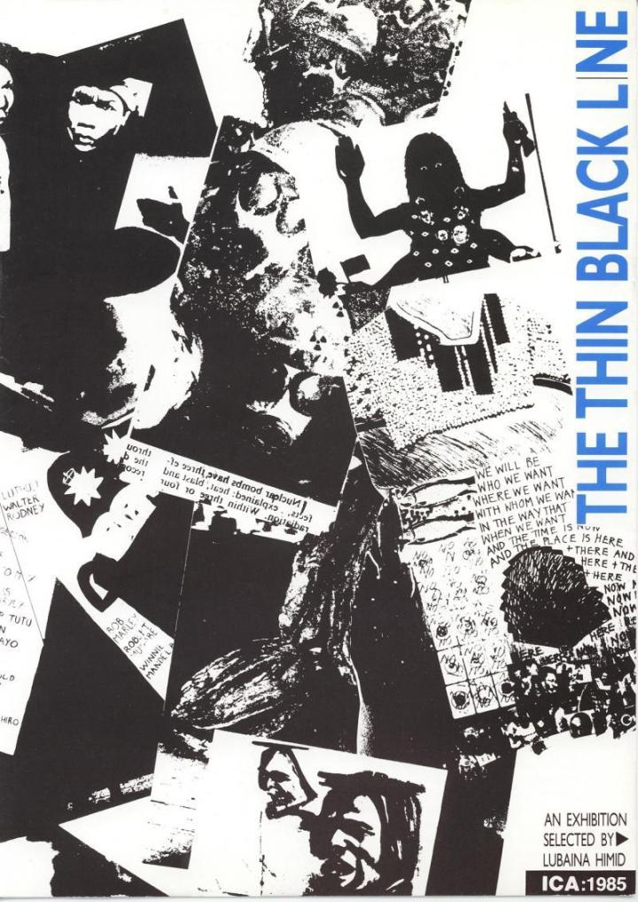 The Thin Black Line  ICA catalogue ©Making Histories Visible