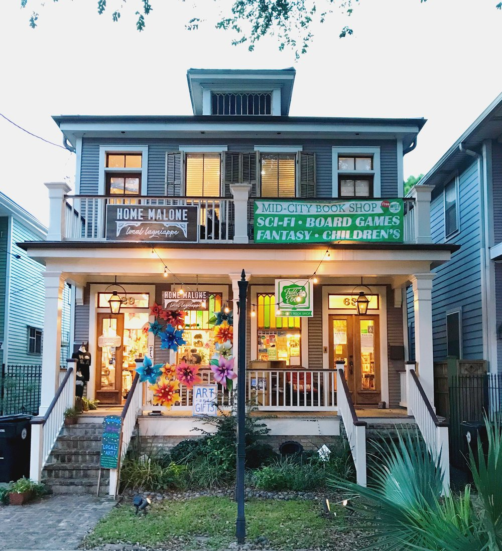 Home Malone in New Orleans, Louisiana on Magazine Street
