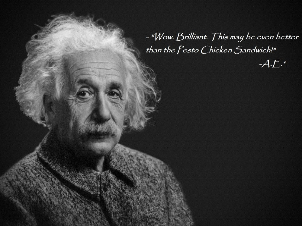 * Disclaimer:  Albert Einstein quote has not been independently verified. If he had a cell phone though, he definitely would have said that.