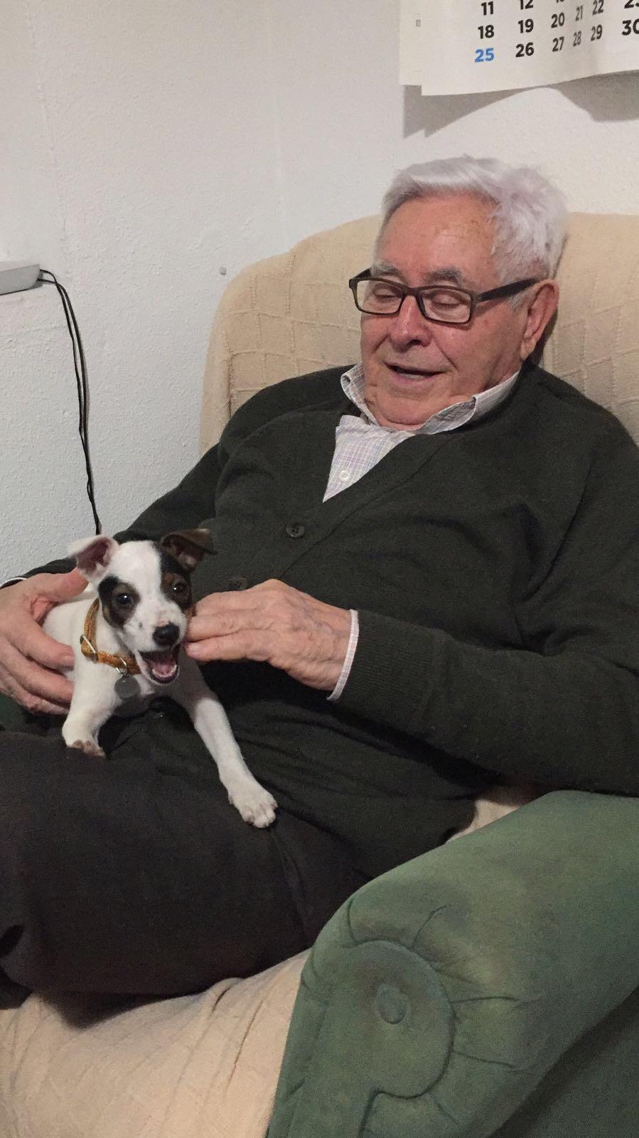 Luis grandad absolutely loved her.
