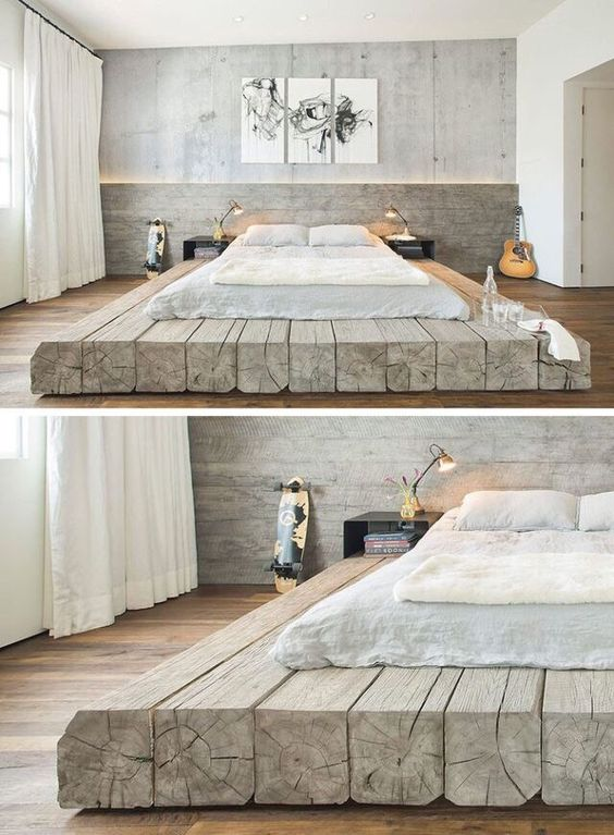 THIS! I have been having a very specific image in my head about how I want my dream bed to look like. And when I saw this picture, I found something even better!This is exactly, and a bit more then I wanted.
