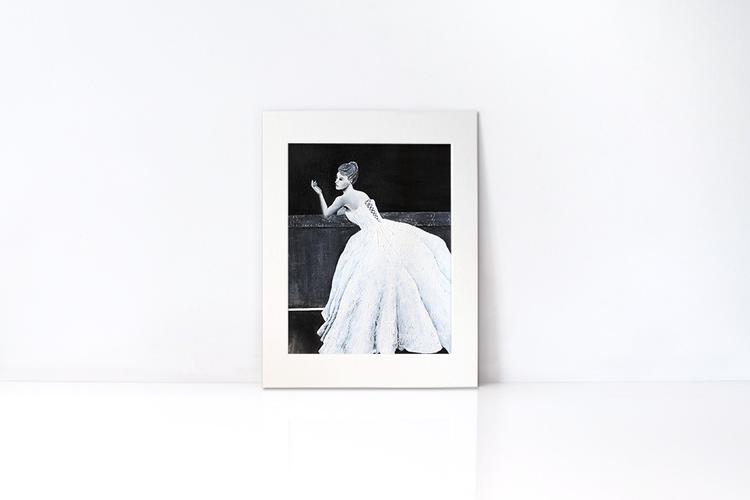 MOONSTRUCK | Mat Frame